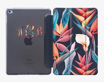 Floral Case Smart Cover iPad Air 3 2019 Case iPad Pro 10.5 Case iPad Mini 5 Case iPad Pro 9.7 Case iPad Pro 12.9 Case iPad 2 Case AC4004