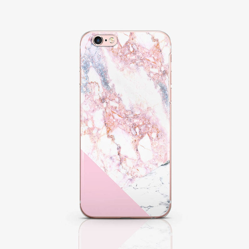 uk availability 61f66 3cf7e Pink Marble iPhone Case iPhone X Csae iPod Touch 6 Case iPhone 7 Plus Case  iPhone 8 Plus Case Clear Case iPhone 7 Case iPhone 6s Case AC1227