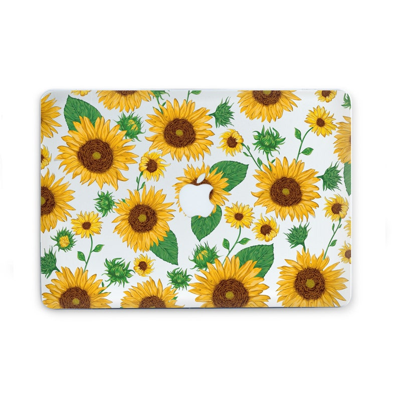online retailer 59869 8a070 Sunflowers Macbook Case Macbook Pro 13 2019 Case Macbook Air 13 Inch Case  Macbook Pro 15 Case Macbook Air 11 Case Floral Laptop Case AC5050