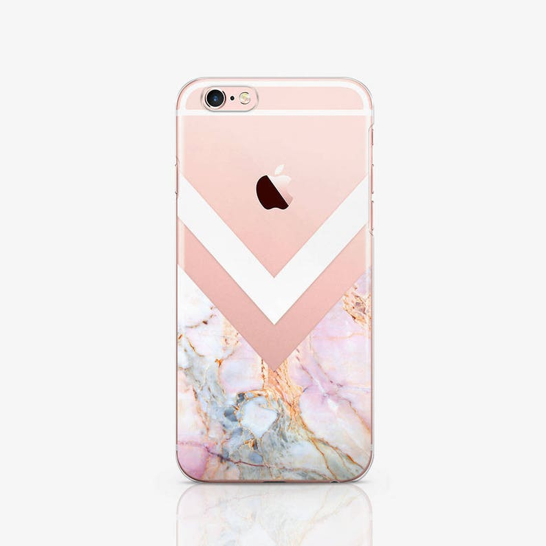 Marble iPhone Case Geometric iPhone X Case Samsung Galaxy S9 image 0