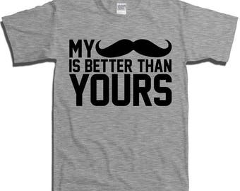 Funny Movember Mens T-shirt T Shirt Tshirt - Moustache Mustache Nerd Geek Collegehumor Cool Awesome Various Sizes Available fa-0401