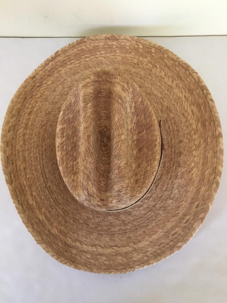 98212c8dd4370 Quality vintage Atwood handmade long oval wide brim cowboy