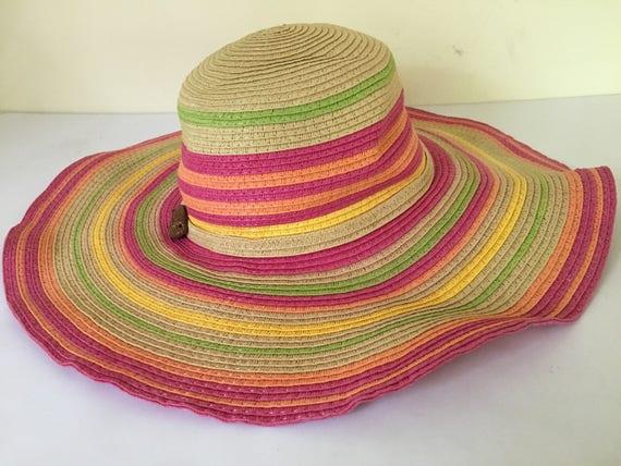 bd46620b856 Vintage women s handmade Panama Jack summer sun outdoors
