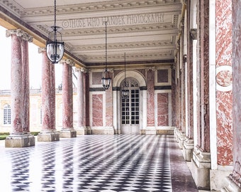 The Grand Trianon, The Palace Of Versailles, Paris Photo Print