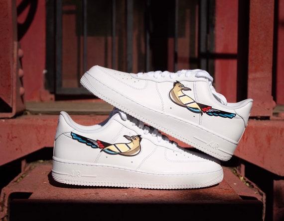 Me sorprendió Guardería Chip  Nike Air Force 1 Roadrunner Customs | Etsy