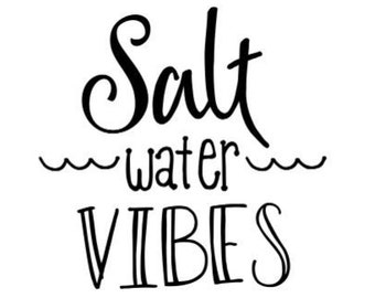 Personalization Add-On: Salt Water Vibes