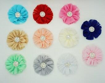 Glitzy Flower - Collar Accesory
