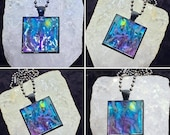 Hand Made Mosaic Tile Necklace