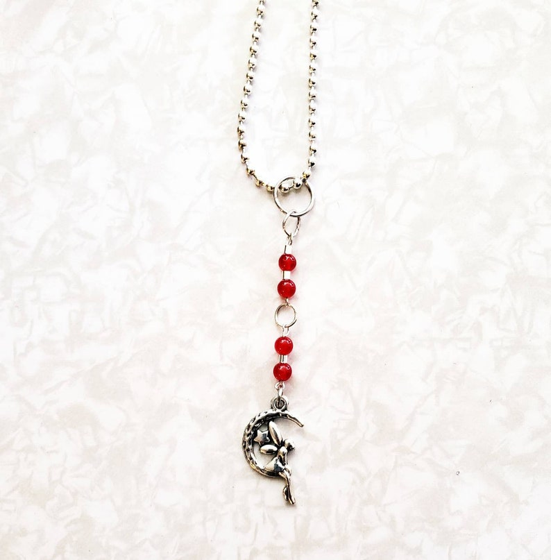 Genuine Ruby Beads Necklace image 0
