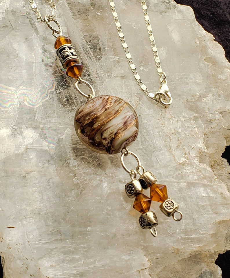 Lampwork Glass Necklace image 0