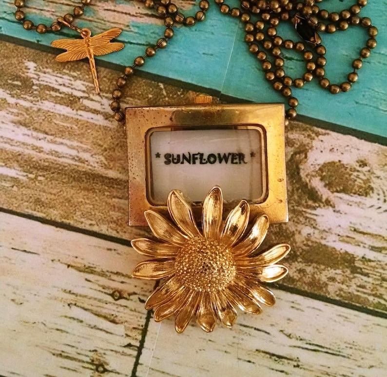 Sunflower Watch Pendant image 0