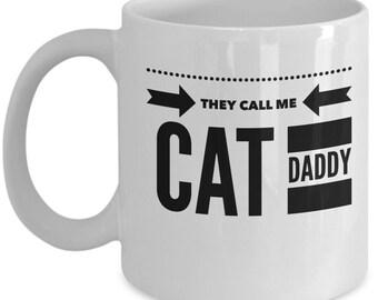 Cat Daddy Mug|Cat Daddy Gift|Cat Dad Mug|Cat Coffee Mug|Crazy Cat Daddy|Cat Lover Mug|Cat Mug|Kitty Mug| Feline Dad|Kitty Cup|Cute Cat Mug