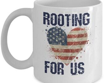 USA Coffee Mug | US Flag Mug| United States Flag Coffee Mug| USA Pride| American Flag|Gifts For Her