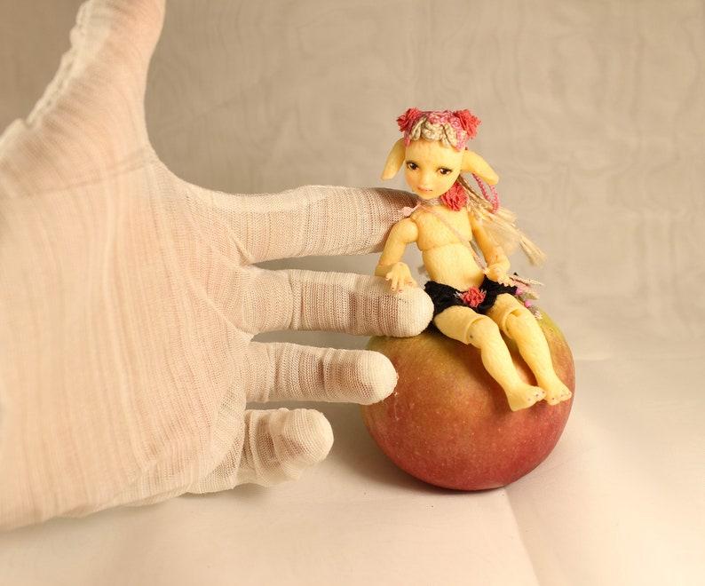 Puppen Spielzeug Miniature 1:24 Little Foxberry OOAK BJD art doll by Julia Arts Puppen & Zubehör