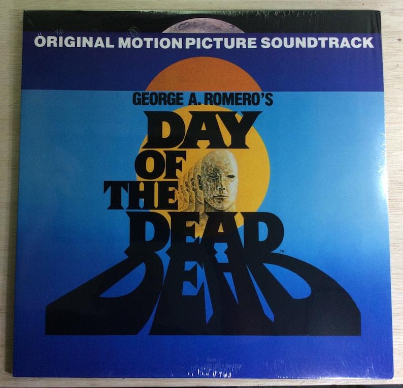 Day Of The Dead LP Original Soundtrack George Romero  Vintage image 0