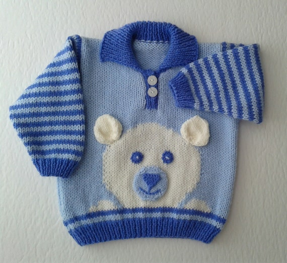 a2b05bb49 Baby knitted sweater Boy s knitted sweater baby boy