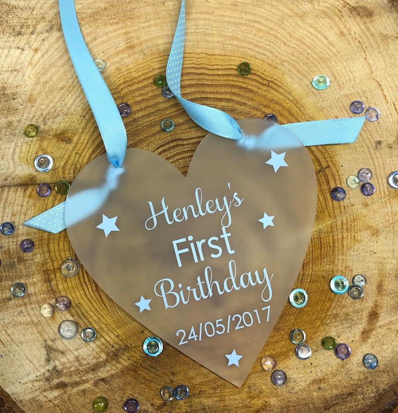 Babys First Birthday Gift 1st Keepsake