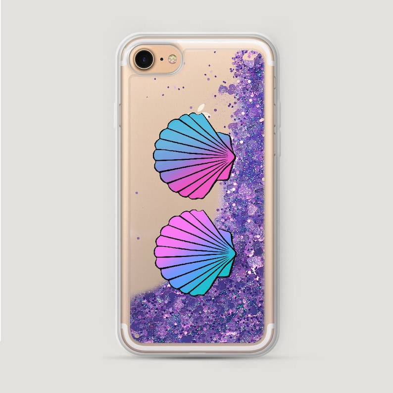 Blue Shell iPhone 6S Case Ocean iPhone 5 Case Glitter iPhone  aef65c39b159