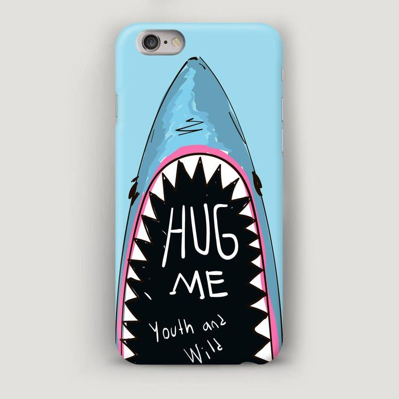 sale retailer c86bb ff501 Shark iPhone 7 Case, Blue iPhone 6 Plus Case, Sea Phone Case, iPhone 5C  Case, iPhone 6S Plus Case, iPhone 7 Plus Cover, Apple Case, 5S Case