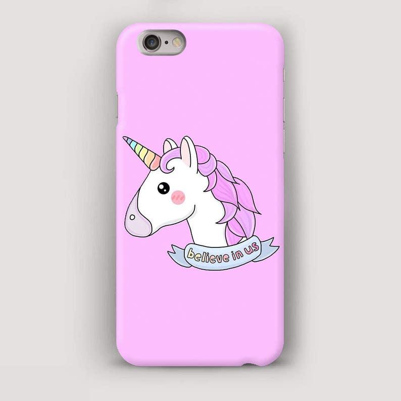 Unicorn iPhone 6 Case Cute iPhone 5S Case Pink iPhone Case  b0b79f64ac