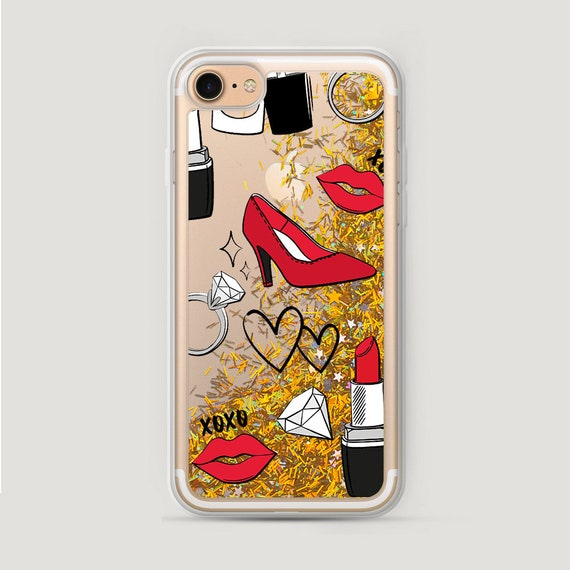 Fashion iPhone 8 Plus Case Womens Glitter iPhone 6 Cover  872151673f