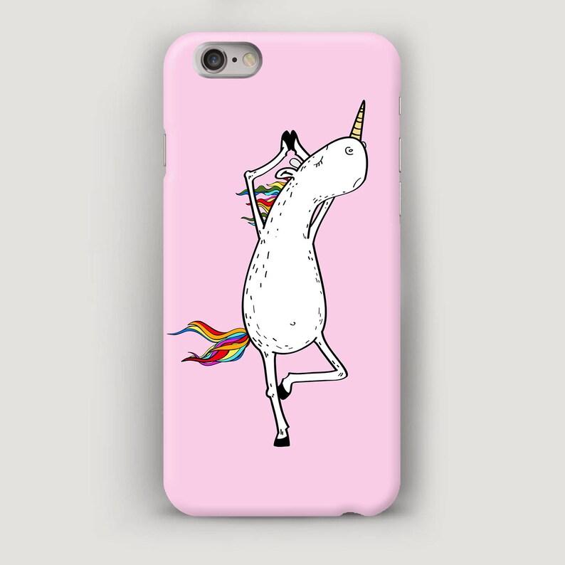 the best attitude 1daac 37d48 Yoga iPhone 6 Case, Unicorn iPhone 7 Plus Case, Pink iPhone 5S Case, Funny  Phone Case, iPhone 5C Case, iPhone 6S Cover, Case iPhone Yoga