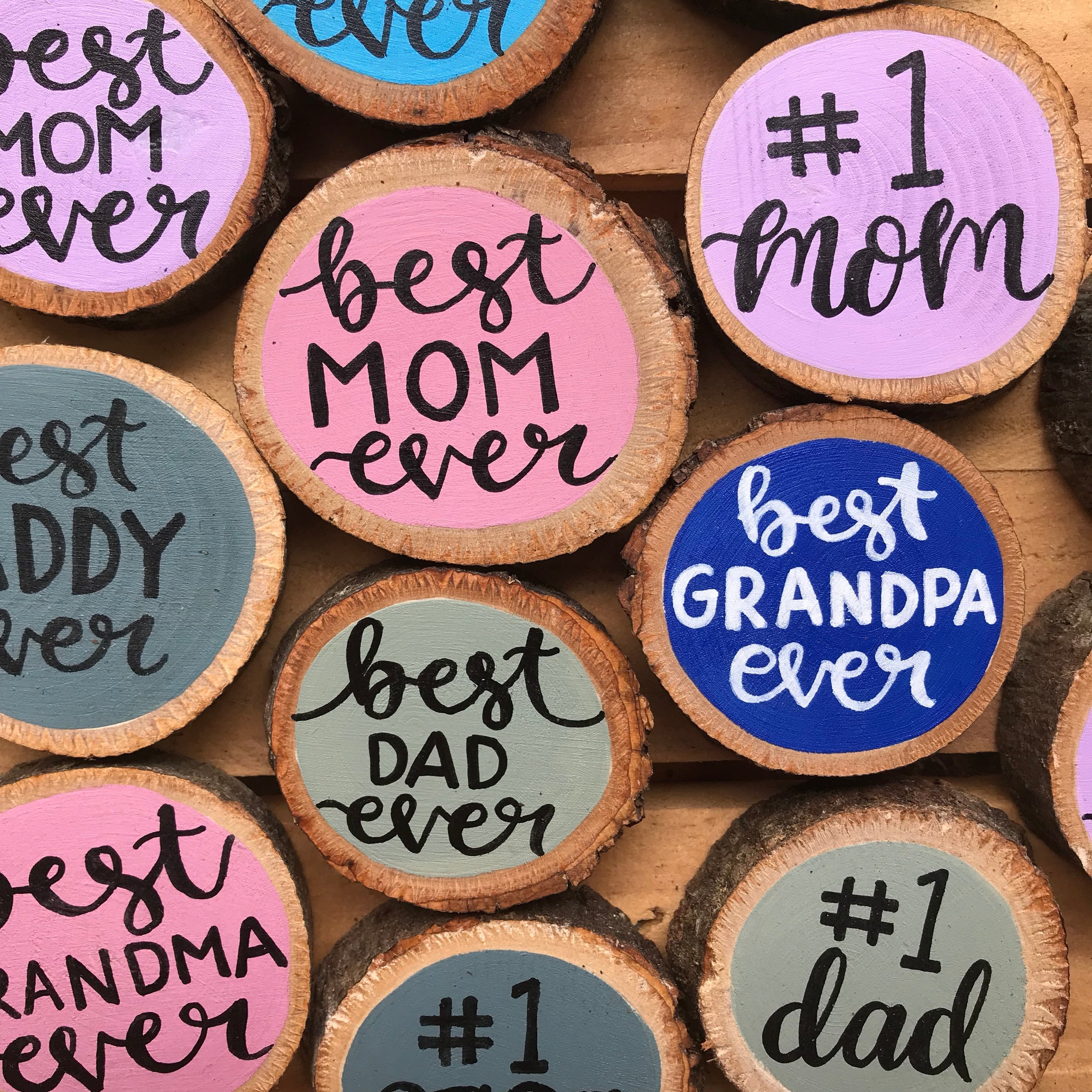 Magnets Fridge Mom Life Dad Gifts For