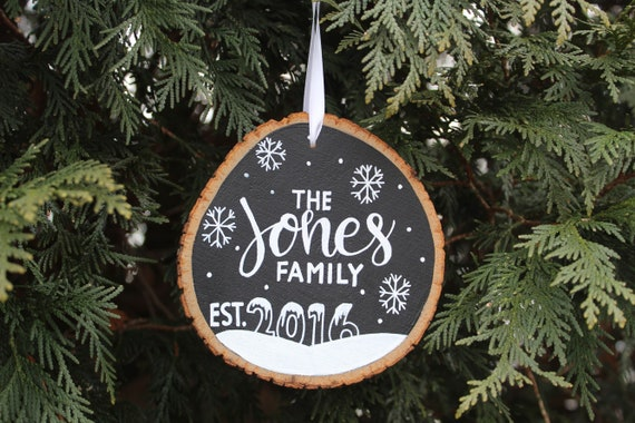 Personalized Christmas Decor.Personalized Christmas Ornament Custom Name Family Ornament Christmas Decoration Christmas Decor Ornaments