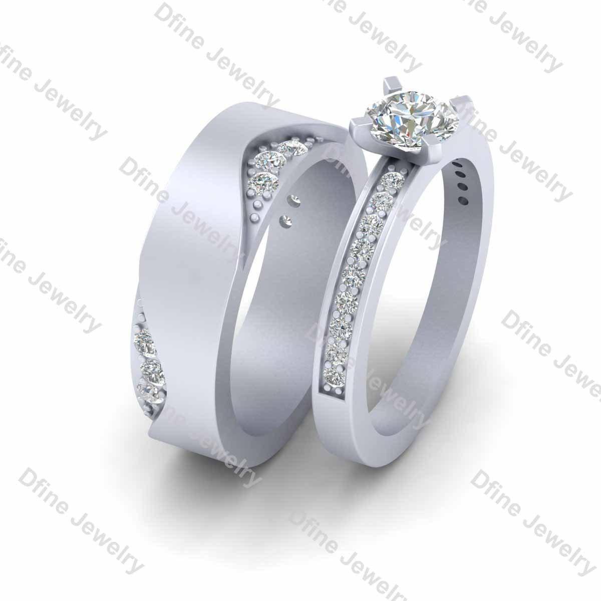 Zoom: Diamond Groom Wedding Bands At Reisefeber.org
