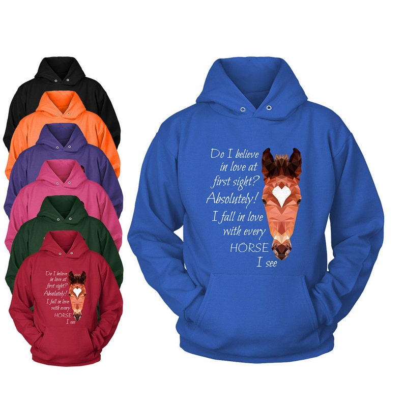 Horse Shipping Quotes | Funny Horse Quote Hooded Sweatshirt Horse Hoodie Hoody Etsy