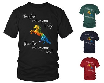 Many Colors & Sizes | Horse Quote Shirt | Racing Riding Jockey Unisex T-Shirt | FREE Shipping to US!