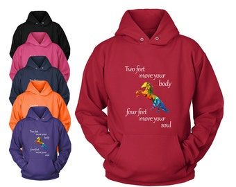 Horse Quote Hooded SWEATSHIRT | Horse hoodie hoody | Equestrian clothing gifts | Horse gifts | Horse clothing | Horse lover | FREE Shipping