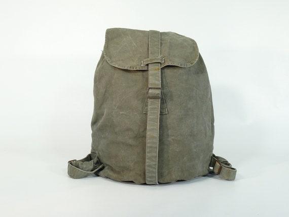 Vintage Military Backpack  Military  Military Backpack  Rucksack Backpack  Army Bag  Yugoslavia  70s  387
