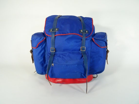 Vintage Backpack / 70s Backpack / Vintage Rucksack