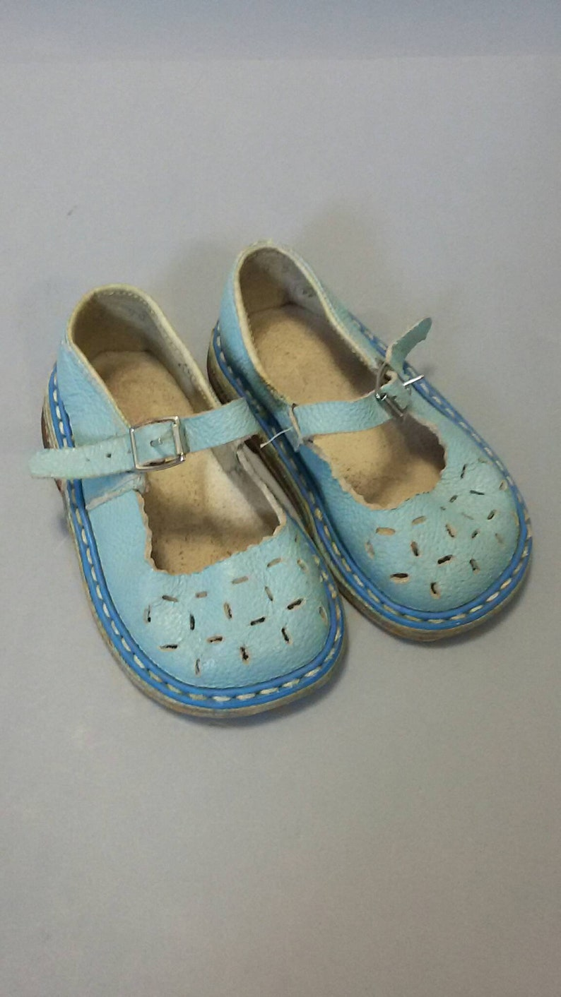 98f9773dfc6d6 Vintage Soviet sandals 60s soviet kids sandals Shoes for   Etsy