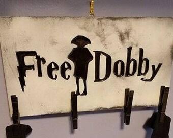 Free Dobby laundry room sign