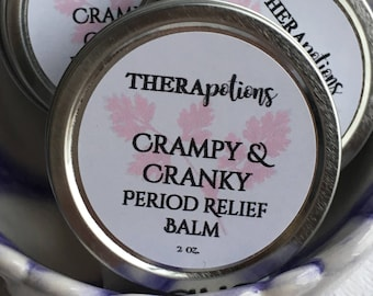 Crampy and Cranky - Period Relief Balm