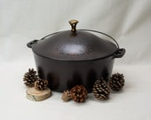 RARE Vintage Wagner Sidney O. 8 Dutch Oven with Dome Lid