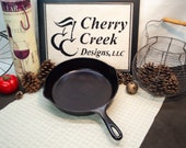 VERY NICE Wagner Ware Sidney O No. 8 Skillet, Cast Iron Skillet, Cast No. 1058C, Vintage Cast Iron, Camp Skillet