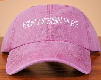 425fe652204 Custom Embroidered Dad Hats