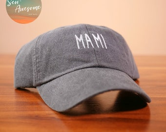 3d2a688e0e489 Mami Embroidered Dad Hat