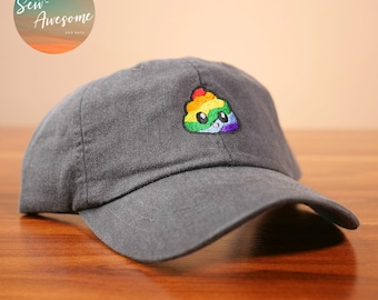 Rainbow Poop Dad Hat 6d34eeda4467