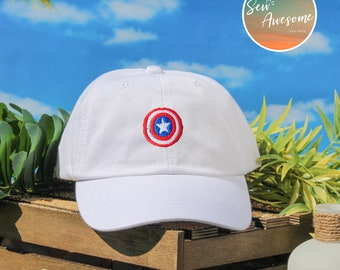 1013d37adff Captain America Dad Hat