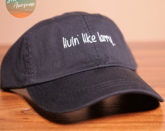 38243a574237e Livin Like Larry Dad Hat