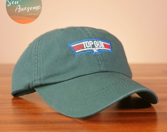 Top Gun Dad Hat a46c0bc74eac