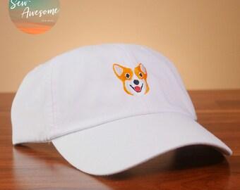 963f15aa7eeee Corgi Embroidered Dad Hat
