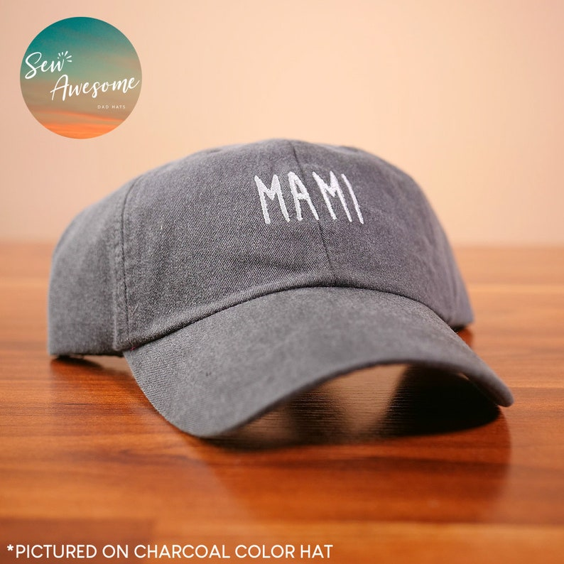 e015f645dfc Mami Embroidered Dad Hat Mami Baseball Hat Gift For Mom