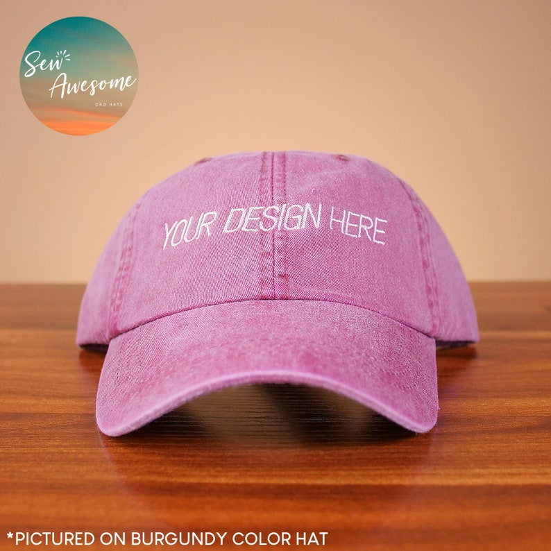 321cd98033e00 Custom Embroidered Dad Hats, Personalized Dad Cap, Best Friend Gift,  Monogram Dad Hats, Girlfriend Gift