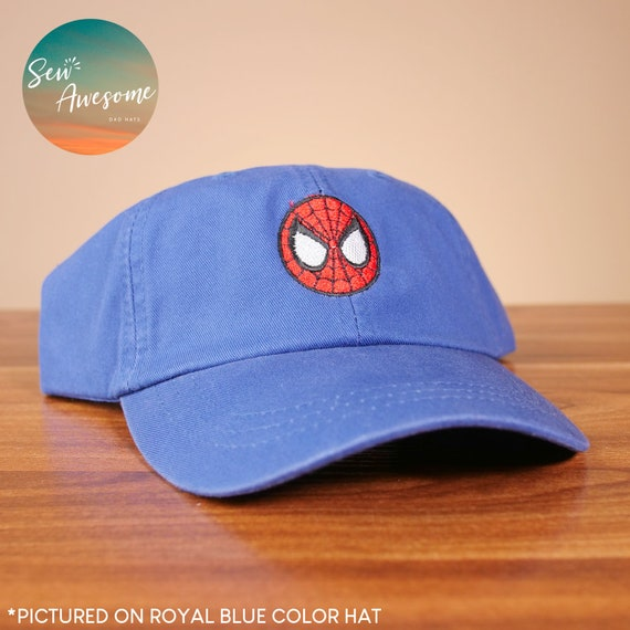 Spiderman Logo Brodé Design Chapeau Spiderman Snapback
