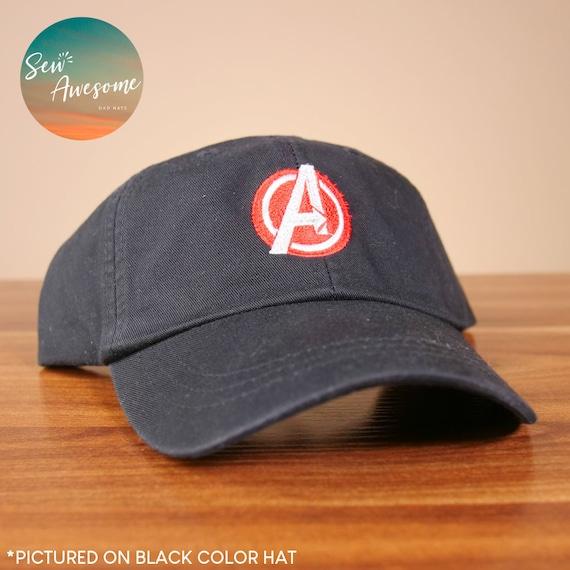 07488f7e951 Avengers Dad Hat Marvel Baseball Cap Custom Embroidery Best